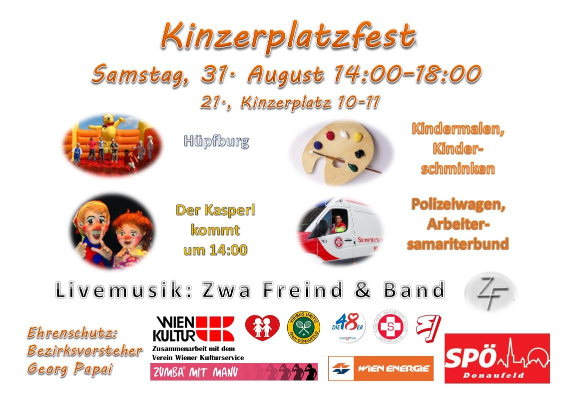 Zumba am Kinzerplatzfest Manuela Bauer Zumba mit Manu crazy-dance.at